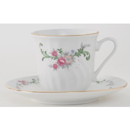 Celestine Cup & Saucer (Set of 6) Gift Box