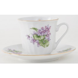 Marguerite Cup & Saucer (Set of 6) Gift Box