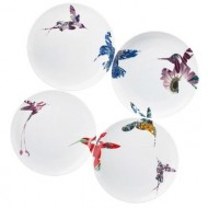 Flutter Set of 4 Salad Plates 8.25""