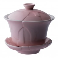 Crackle 120 mL Oriental Tea Cup -Pink